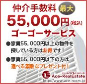 55,000円バナー